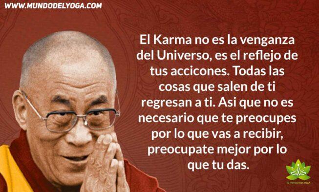 El Dalai Lama Habla Sobre El Karma El Mundo Del Yoga